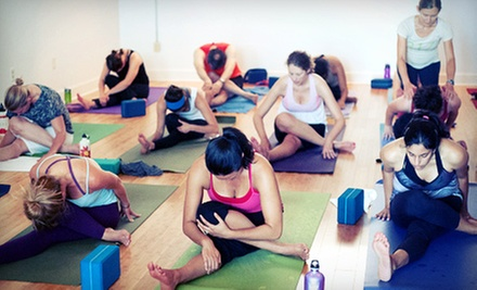 $59 for One Month of Unlimited Yoga, Pilates, or Barre Classes at Invoke Yoga and Pilates Studio ($139 Value)