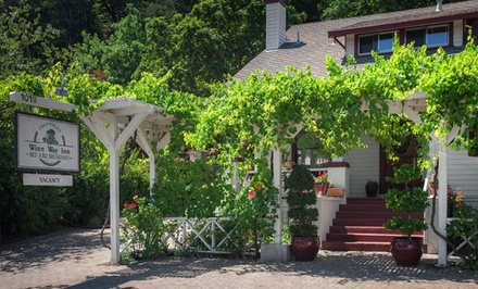 groupon daily deal - 1- or 2-Night Stay for Two with Wine-Tasting Passes at Calistoga Wine Way Inn in Calistoga, CA