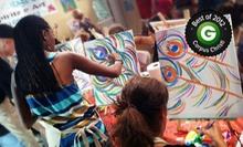Three-Hour BYOB Painting Class for One, Two, or Four at The Vintage Easel (Up to 54% Off)