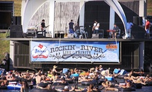 Tube the Trinity at Rockin' the River for 2, 4, or 6 at Panther Island Pavilion (Up to 61% Off). Six Dates Available.