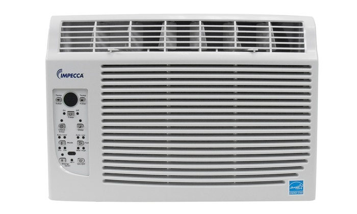 Impecca 5 000 btu h window air conditioner groupon for 1800 btu window air conditioner