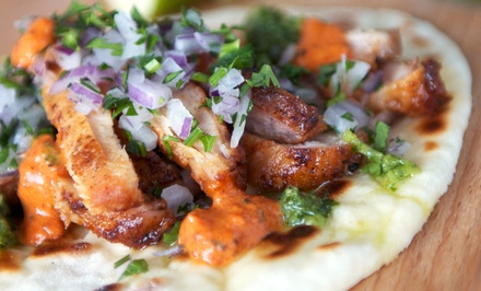 Mexican-Fusion Cuisine for Weekday Brunch, Weekday Lunch, and Dinner at Marg's Taco Bistro (40% Off)