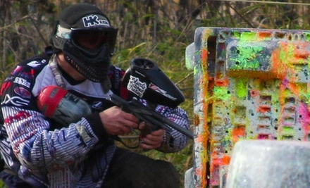 Paintball Outing with Admission, Equipment, and Paintballs for Two or Four at Fox Paintball in Newark (Up to 69% Off)