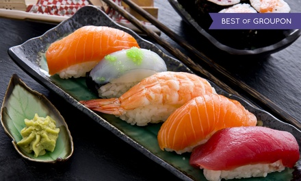 Sushi Lunch, Sushi Dinner, or Drinks for Two or More at Sushi Hai (33% Off)