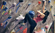 Indoor-Climbing 101 with a Month of Climbing and Gear for One, Two, or Four at The Cliffs at Valhalla (Up to 88% Off)