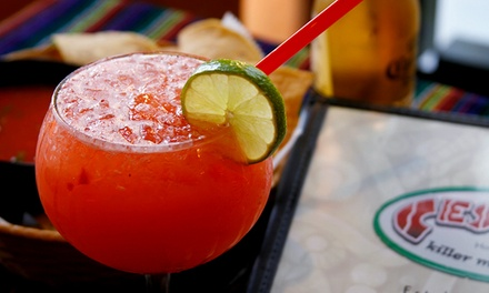 Mexican Food and Margaritas at Cesar's Restaurant (50% Off). Three Options Available.