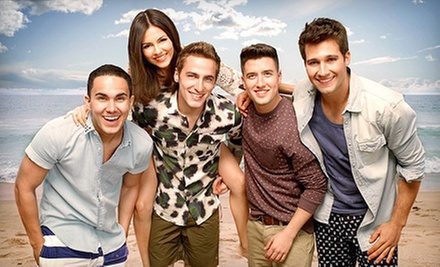 Summer Break Tour: Big Time Rush &amp; Victoria Justice at Cynthia Woods Mitchell Pavilion on June 28 (Up to $47.80 Value)