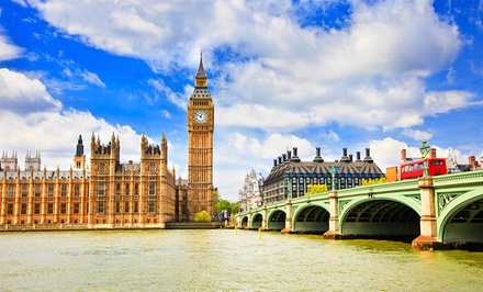 Groupon Deal: ✈ 7-Day Vacation in London, Paris & Amsterdam with Airfare from go-today; Price/Person Based on Double Occupancy