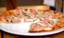 Pizzeria Cuisine at Ricos Italian Pizza (Half Off). Two Options Available.