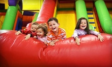 All-Day Inflatable-Playground Visit for Four, or Birthday Party for Up to 12 at Kangaroo Jac's (Up to 59% Off)