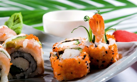 $29 for $45 Worth of Sushi and Japanese Cuisine at Live Sushi Bistro. Groupon Reservation Required.