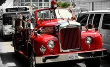 Two-Hour City-and-Winery Tour for One, Two, or Four from San Francisco Fire Engine Tours & Adventures (Up to 62% Off)