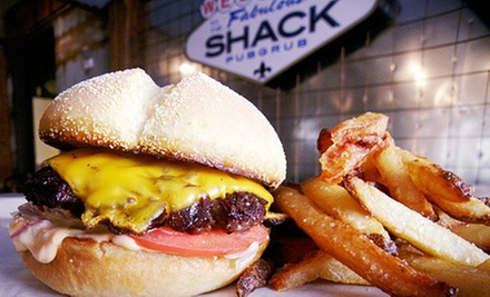 $10 for $20 Worth of Pub Food at The Shack