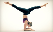 10 Drop-In Classes or One Month of Unlimited Classes at Hot Yoga Plus (Up to 70% Off). Three Locations Available.