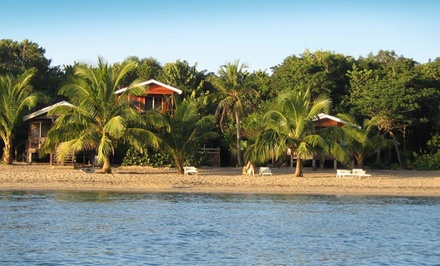 groupon daily deal - 3-, 4-, or 5-Night Stay for Two with Optional Snorkeling Package at Jungle Jeanie's by the Sea in Belize