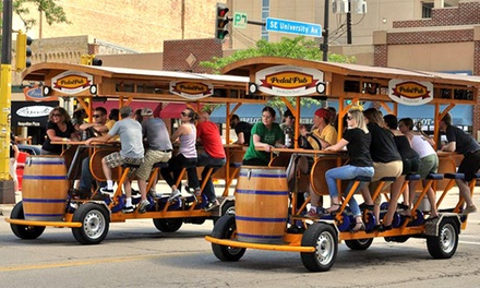 Two-Hour BYOB Ride for 8–16 from PedalPub Twin Cities (Up to 45% Off). Six Options Available.