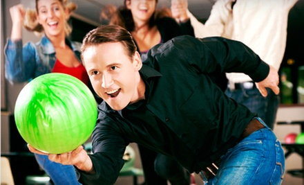 Weekday or Weekend Bowling for Up to Six at Morgan Hill Bowl (Up to 67% Off)