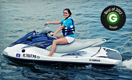 $39 for a 60-Minute WaveRunner Rental from Lotto Boat ($99 Value)