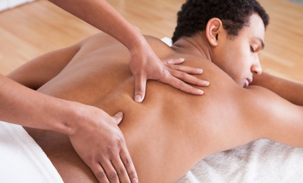 One or Two 60-Minute Swedish, Hot-Stone, or Therapeutic Massages at Axis Natural Medicine (Up to 51% Off)