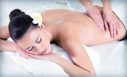 One-Hour Swedish or Ashiatsu Oriental Bar Massage at 007 Stress Therapy (Up to 52% Off)