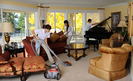 $55 for Two Hours of Housecleaning Services from Live Clean Today ($120 Value)