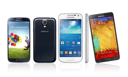 Samsung Galaxy S3, S4, or Note 3 Smartphones from $129.99–$349.99 (GSM Unlocked) (Refurbished)