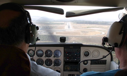 Discovery Flight for Up to Three or Eight-Week Ground School at Advanced Air Incorporated (Up to 62% Off)
