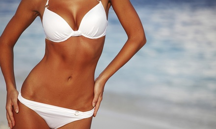 One or Two Full-Body Airbrush Spray Tans at Mes Ami Salon and Boutique (Up to 59% Off)