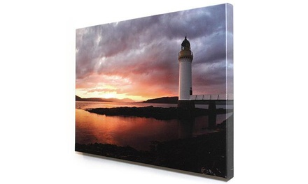 Canvas Print, Small or Large Poster, or $30 Worth of Printing Services from Creative Station Printing and Design