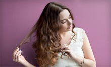 $30 for a Haircut, Single-Process Color Treatment, and Style at Red Carpet Salon & Tanning ($75 Value)