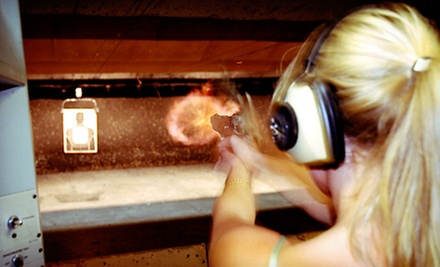 Shooting-Range Package for One or Two with Live-Fire Instruction and Gun Rental at Boston Firearms (Up to 62% Off)