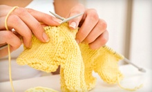 One or Three Knit & Purl or Crochet Clinic Beginners' Classes at The Little Knittery (Up to 54% Off)