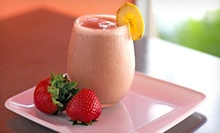 Raw Smoothies, Juices, and Salads at Jar Bar (Up to 76% Off). Three Options Available.