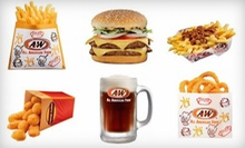 $15 for $30 Worth of American Fare and Drinks at A&W of Smithfield