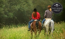 Horseback Riding or Private Lessons at Spring Valley Equestrian Center (Up to 62% Off). Three Options Available.