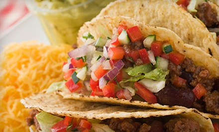 Mexican Cuisine and Nonalcoholic Drinks at Ole's Tex-Mex Restaurant in Coppell (Half Off). Two Options Available.
