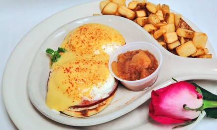 Breakfast or Lunch at Recipes (50% Off)