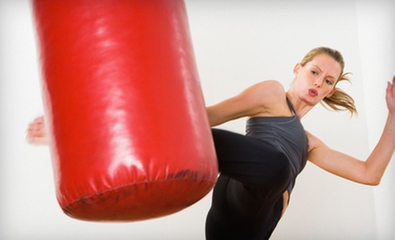 10 or 20 Kickboxing or Brazilian Butt Classes at Ken Jackson's Fitness Factory (Up to 76% Off)