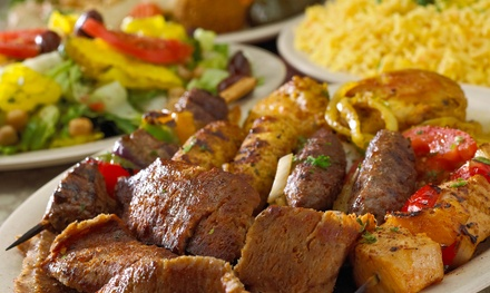 $16 for Two Groupons, Each Good for $14 Worth of Mediterranean Deli Food at Holy Land ($28 Value)