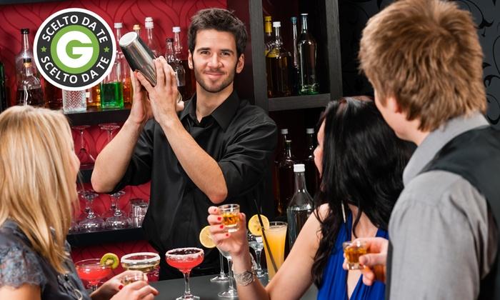 More More - Roma: Corso di barman di 4 ore per una o due persone da 19,90 €