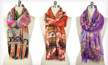 In-Things Scarf or Wrap (Up to 77% Off). Multiple Styles Available.