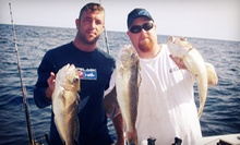 Four-Hour Day or Night Fishing Trip for One, Two, or Four from Fish On Charters (Up to 58% Off)