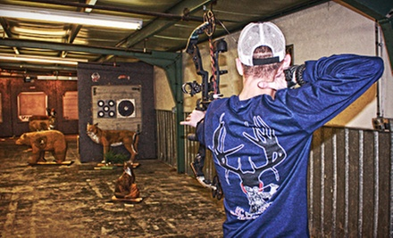 Archery Sessions or Range Time at KC Performance Archery and Range (Up to 65% Off). Five Options Available.