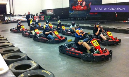 Two Same-Day Go-Kart Races for Two or Four at Fast Lap-Las Vegas (Up to 58% Off)