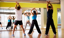 10 or 20 Zumba Classes at Motivation Fitness Studio (Up to 73% Off)