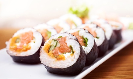 Sushi and Rice Bowls for Dinner or Lunch at Rakuen Lounge (50% Off)