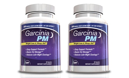 1- or 2-Pack of 30-Serving Bottles of Garcinia PM Supplements