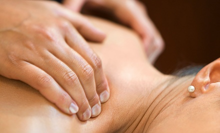 Swedish or Deep-Tissue Massage, Body Wrap with Reflexology, or Both at Whole Earth Massage (Up to 55% Off)