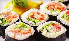 $15 for Japanese Dinner with Appetizer, Soup, Bento Box and Drinks for Two at Hiro Japan Xpress ($31.07 Value)