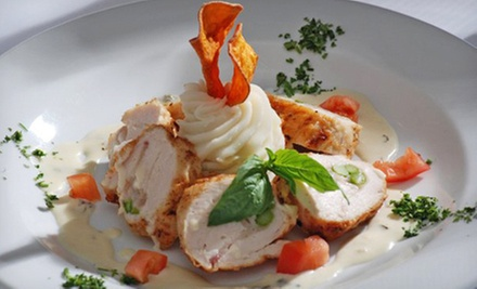Upscale Bistro Dinner and Drinks at David&#x27;s Bistro (Up to 52% Off). Two Options Available. 